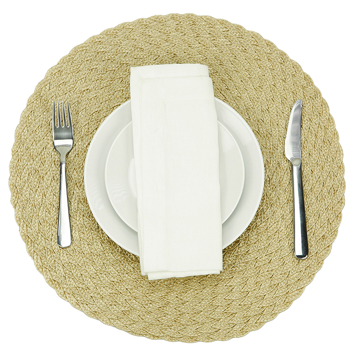 Durable And Stylish Solution for Indoor And Outdoor Dining PP Placemat