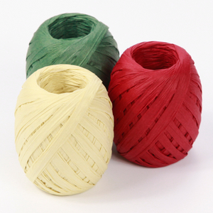 PAPER RAFFIA RIBBON EGG ROLL